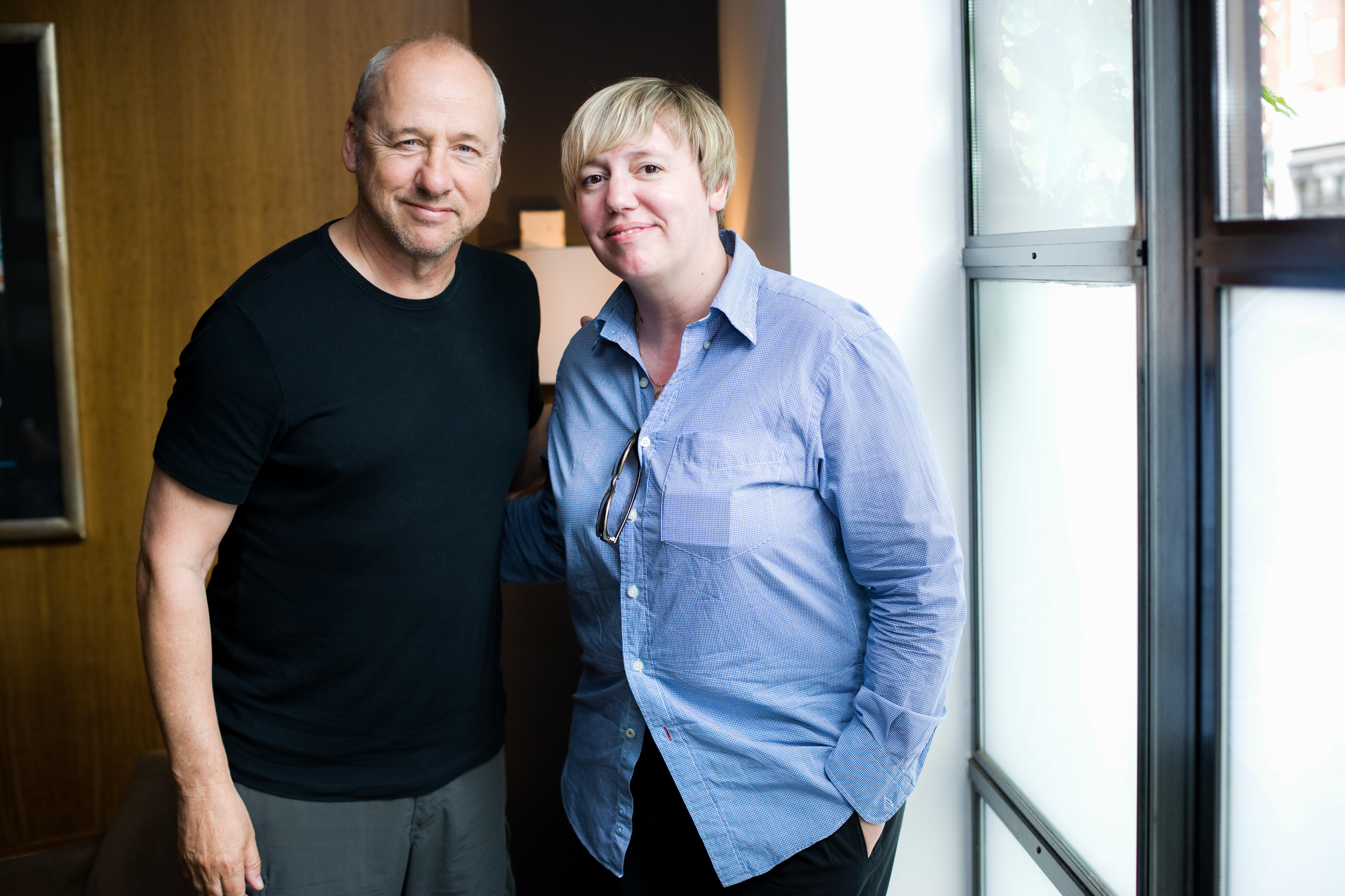 Mark Knopfler i Marijana Marinovic, London 010709snimio Petar Jurica